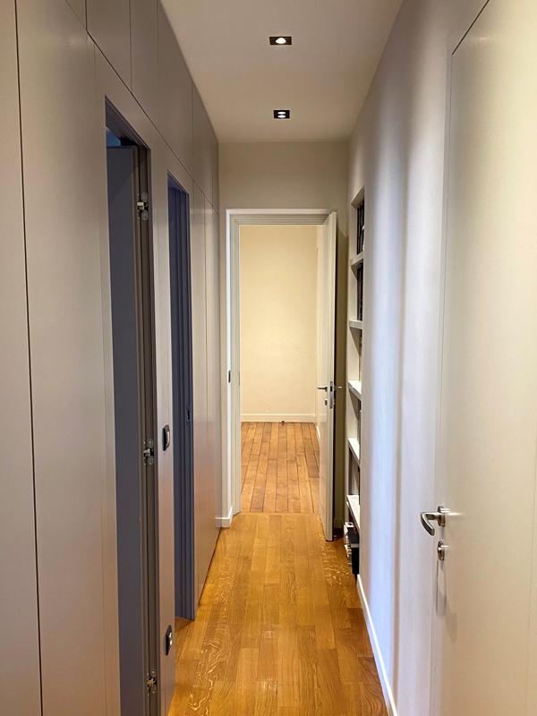 Couloir de distribution de chambres